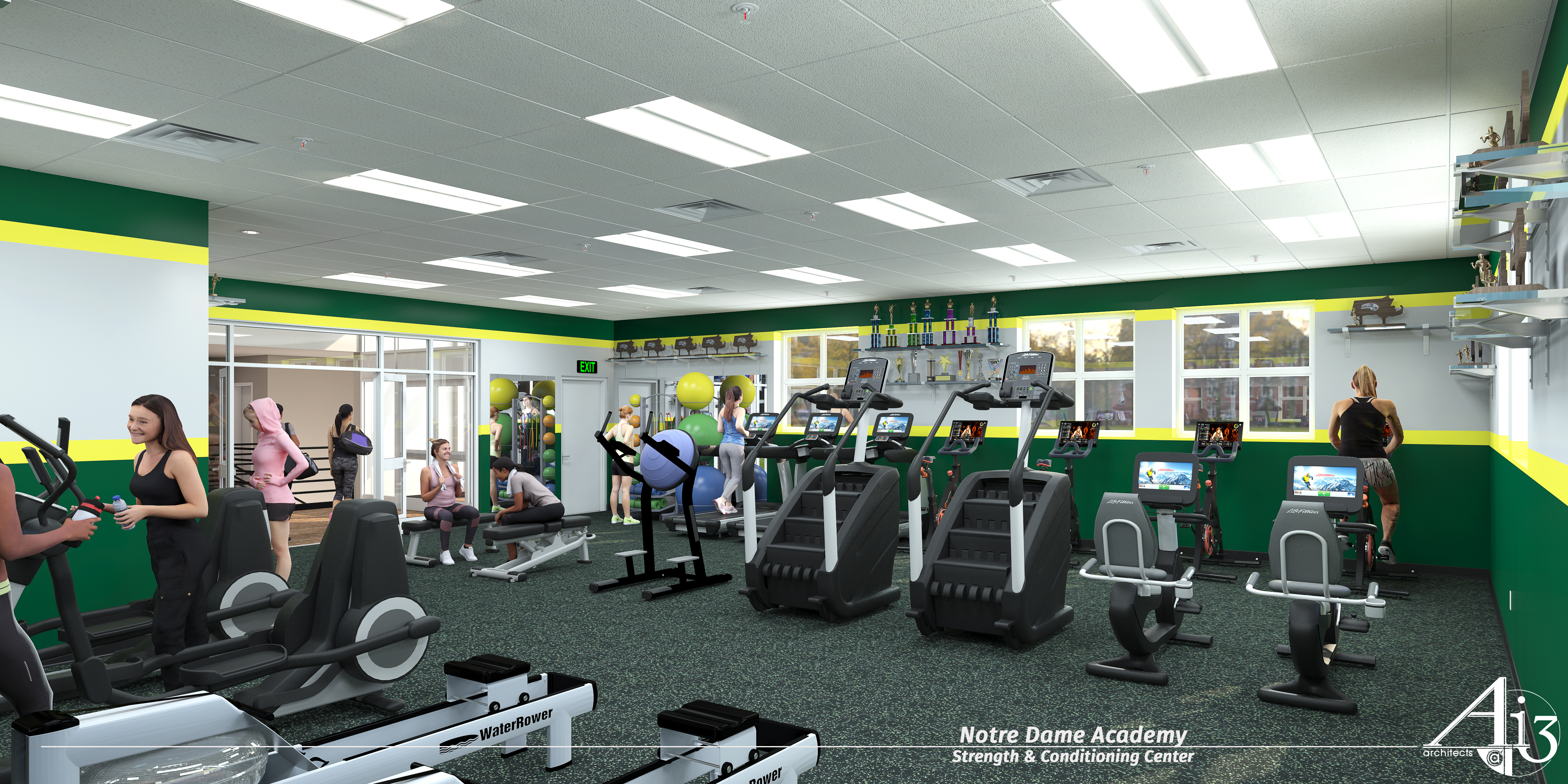 Notre Dame Academy Receives $85K Grant for Athletic Center Renovations and Strength and Conditioning Center